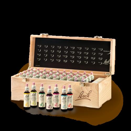 Bach®-Blüten Set Holzkoffer