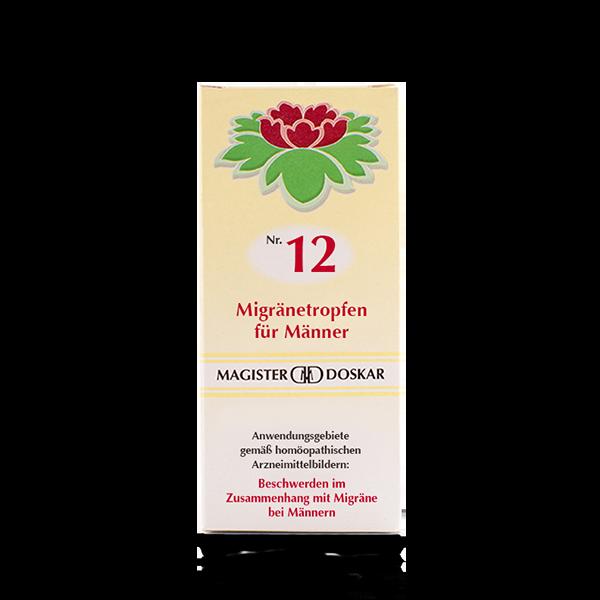 Nr. 12 Migränetropfen für Männer