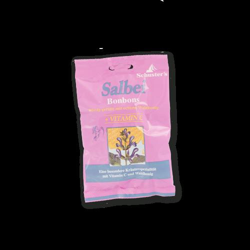 Schuster's Salbei Bonbons mit Honig und Vitamin-C
