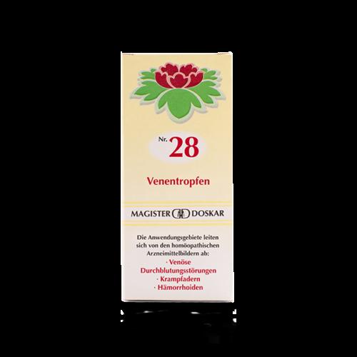 Magister Doskar Homöopathie Nr. 28 Venentropfen