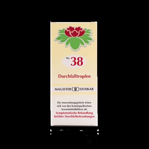 Magister Doskar Homöopathie Nr. 38 Durchfalltropfen