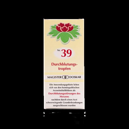 Magister Doskar Homöopathie Nr. 39 Durchblutungstropfen