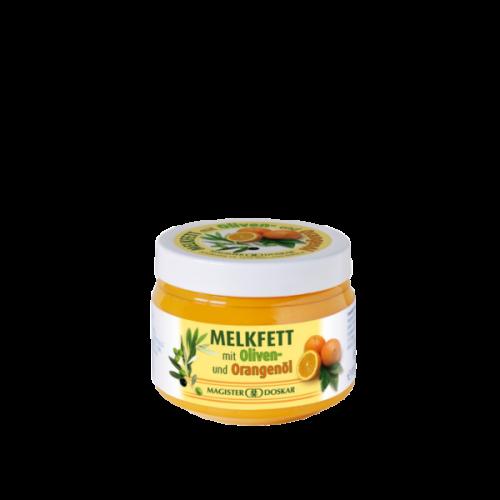 Melkfett Creme mit Orange und Olive