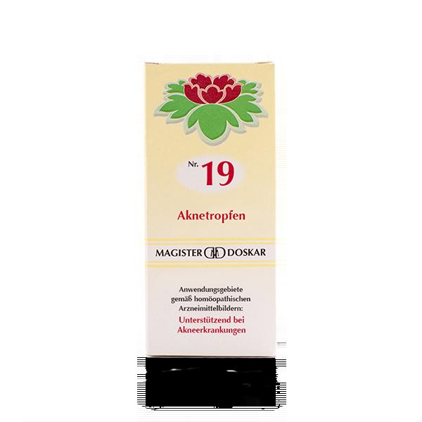 Nr. 19 Aknetropfen