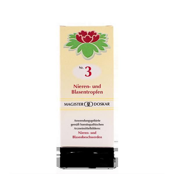 Nr. 3 Nieren- und Blasentropfen
