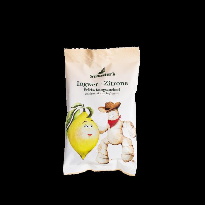 Schuster's Ingwer Zitrone Erfrischungszuckerl