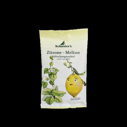 Schuster's Zitrone - Melisse Erfrischungszuckerl
