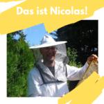 Imker Nicolas Fedrigrotti